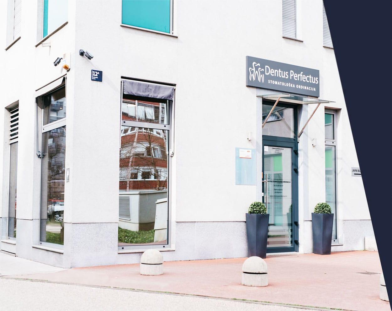 Dentus Perfectus lokacija centar Zagreb